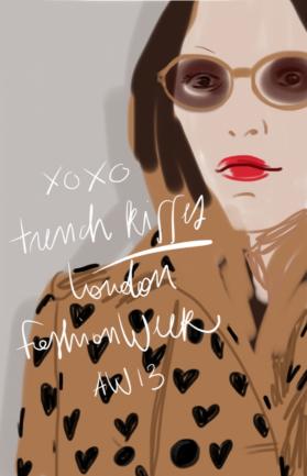 Fashion Show Illustration by Silvana Mariani