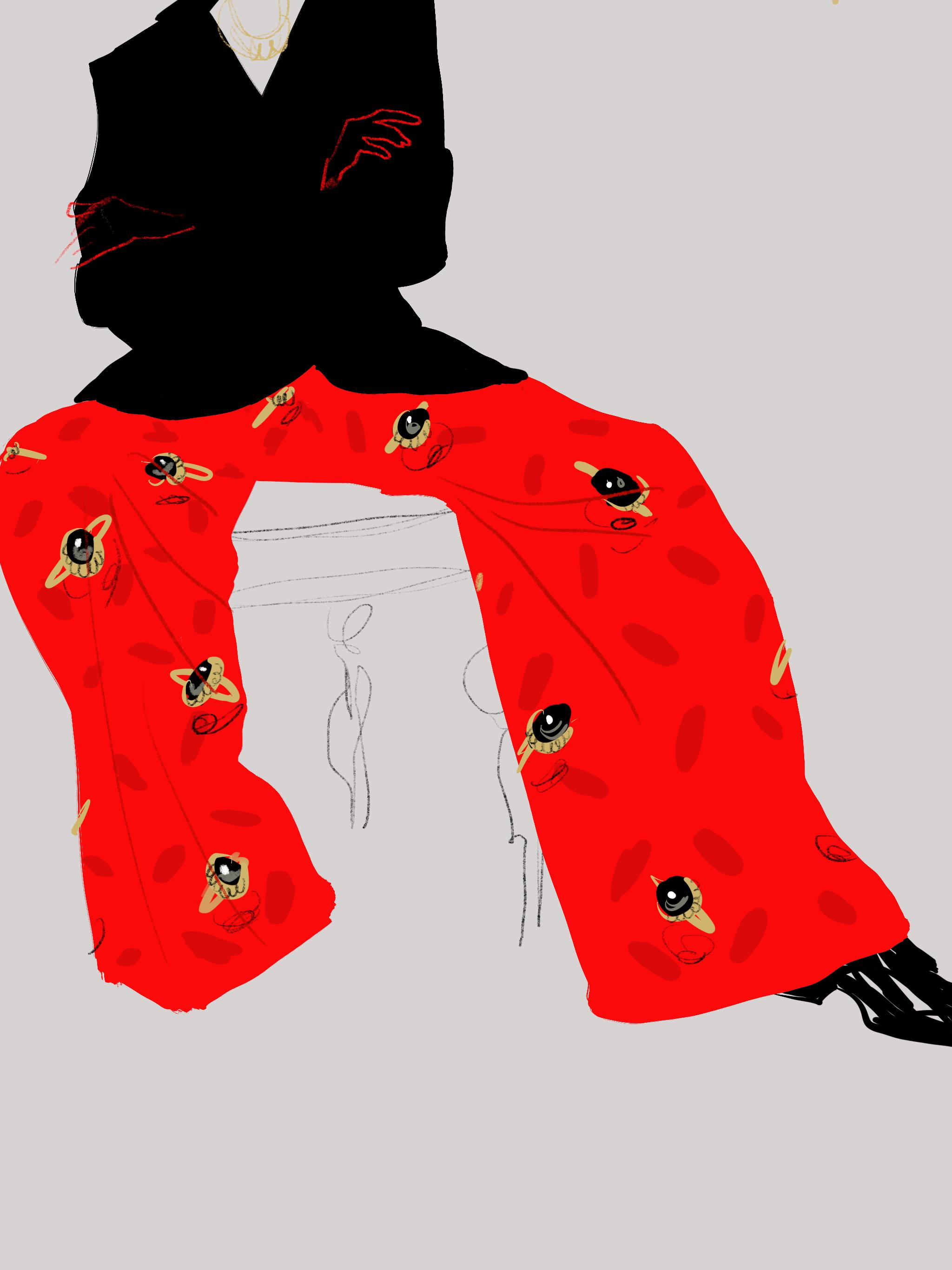 Fashion Illustration - Open Toe Illustration