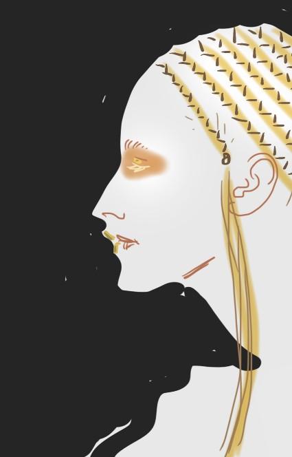 Beauty Illustration by Silvana Mariani