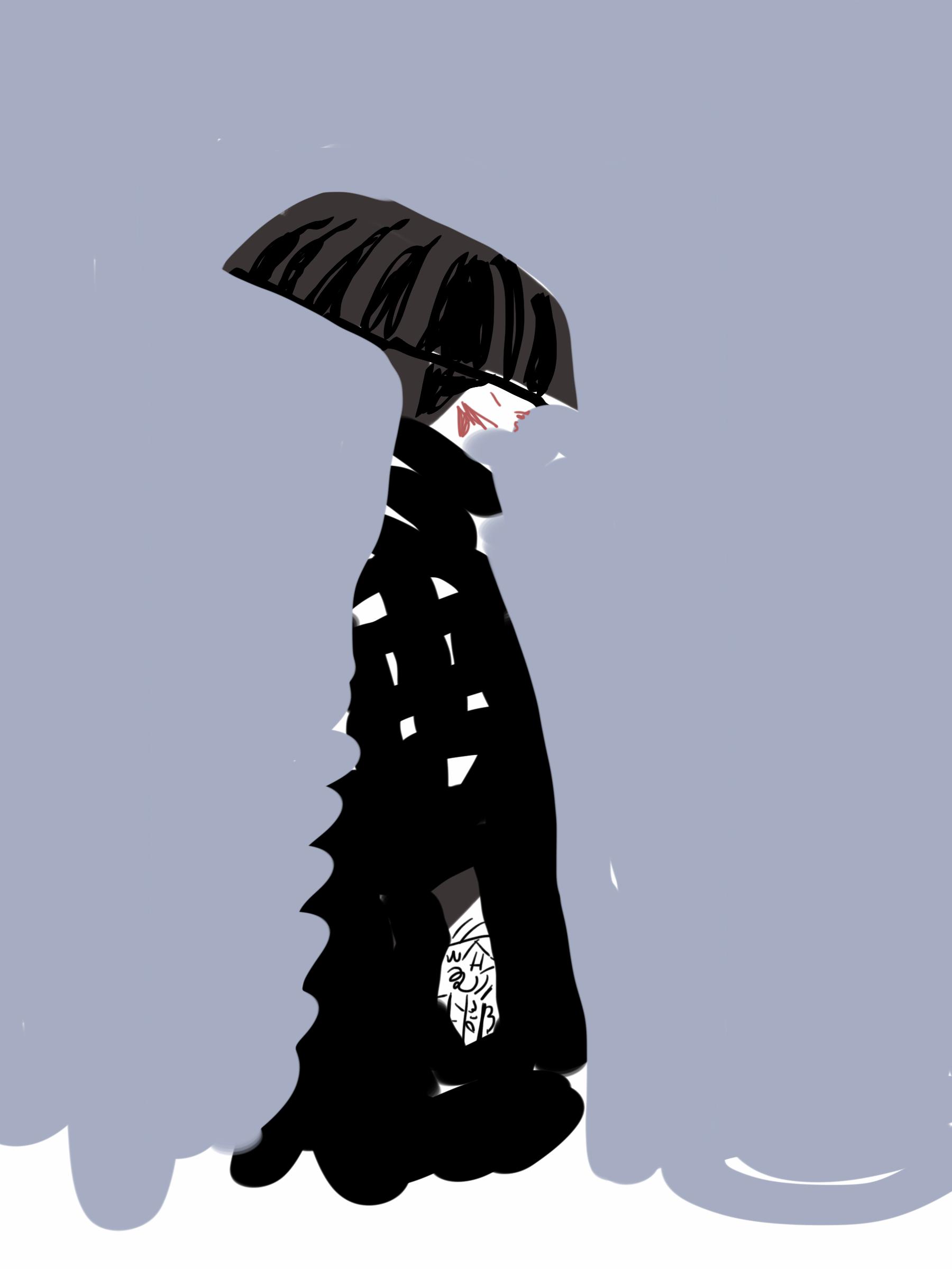 Watanabe Runway Illustration by Silvana Mariani