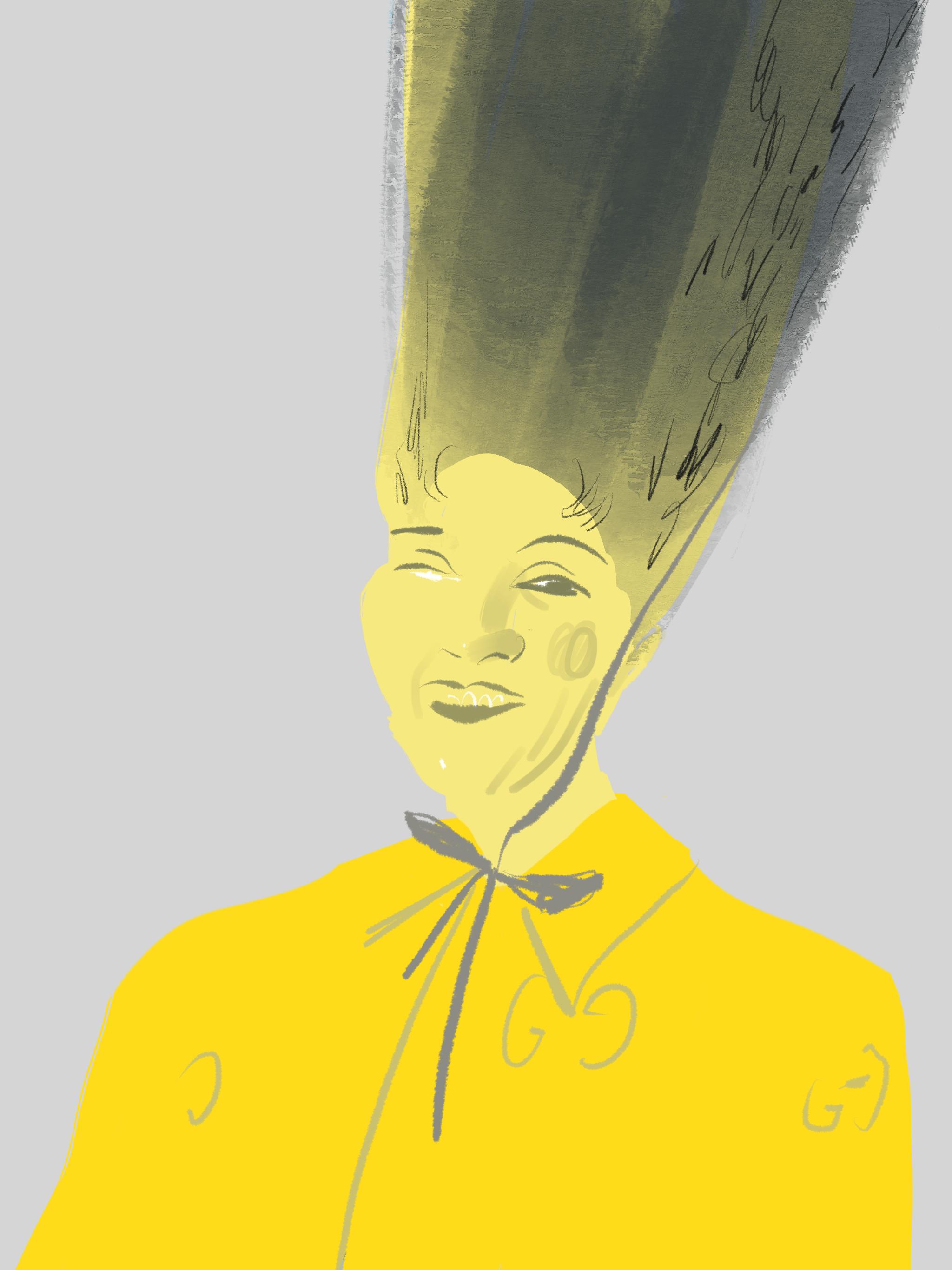Hairstyle, Beauty Illustration by Silvana Mariani