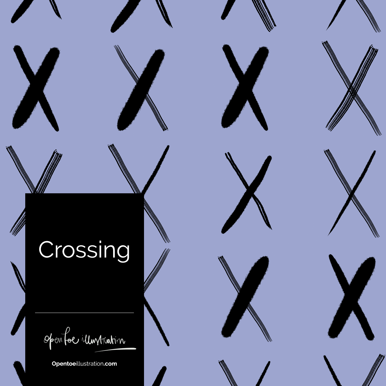 Crossing Pattern by Silvana Mariani