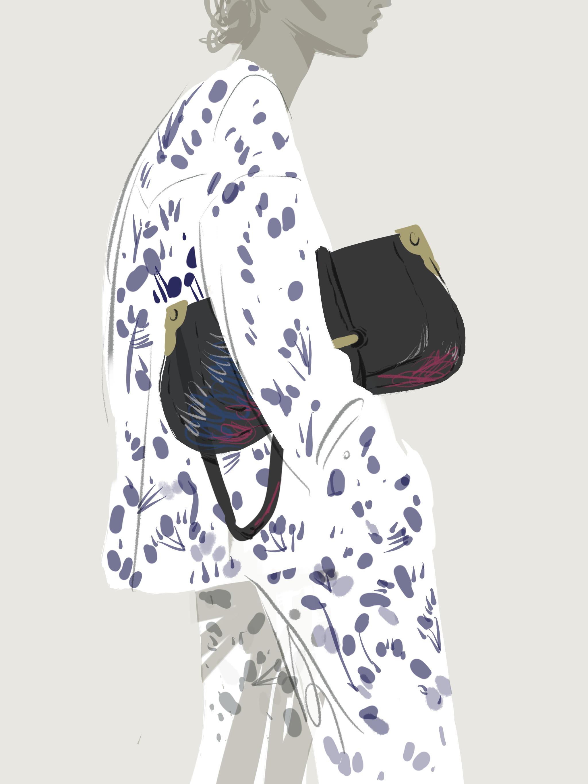 Fashion Illustration | Open Toe Illustration