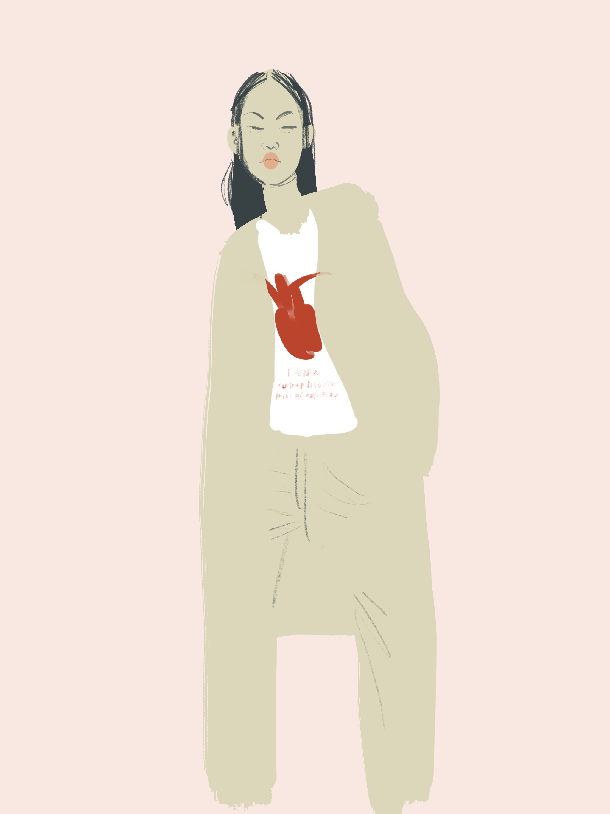 Frida's Heart styling by Silvana Mariani