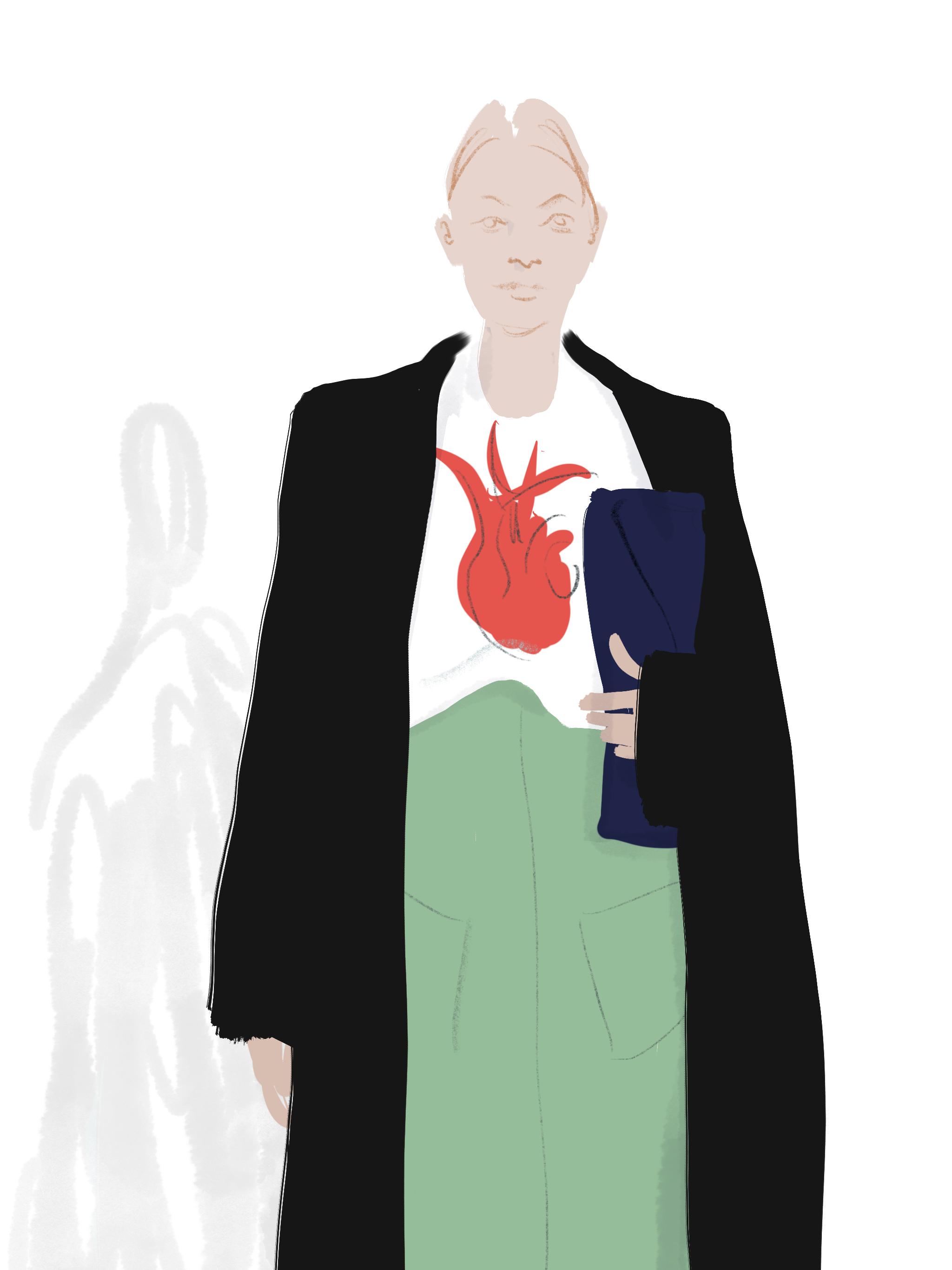 Frida's heart Fashion by Silvana Mariani