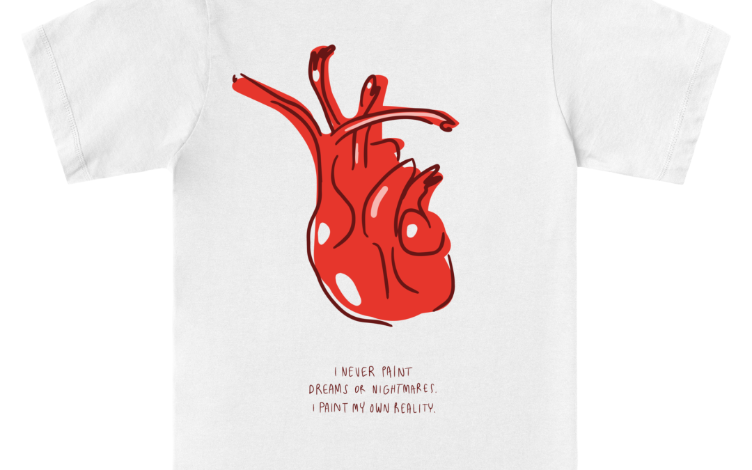 News 08: The Frida's Heart T-Shirt