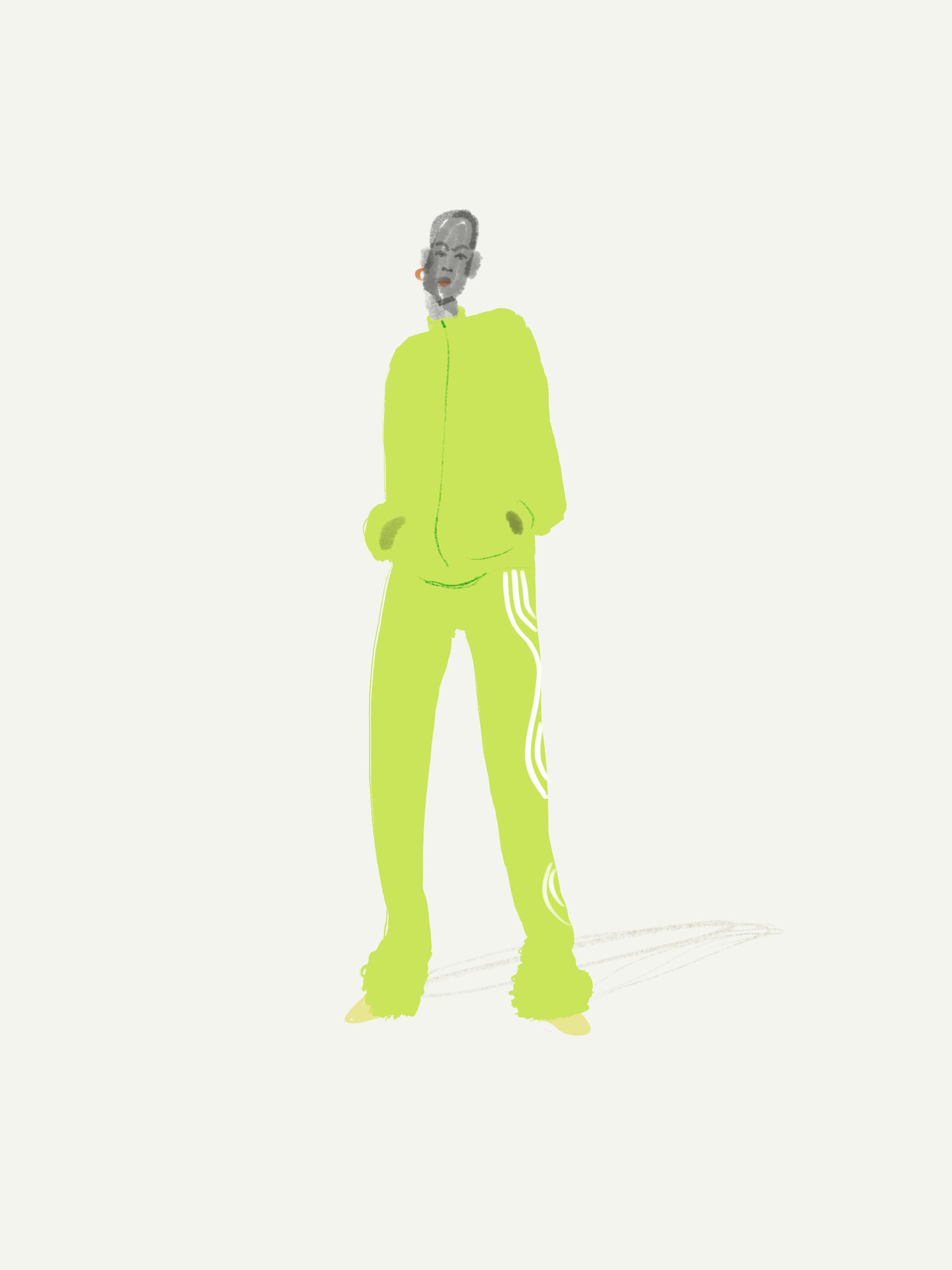 Fashion Illustration by Silvana Mariani